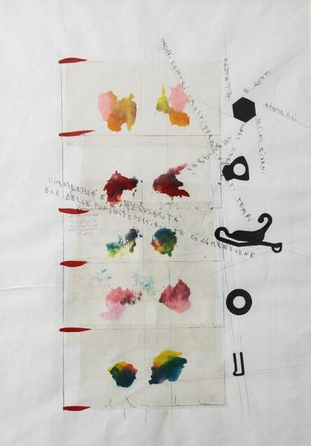 Alighiero Boetti, 'Simmetria e specularità', 1986