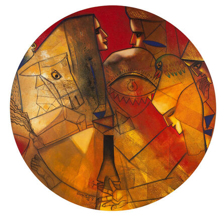 Paresh Maity, 'Formation of Life', 2013