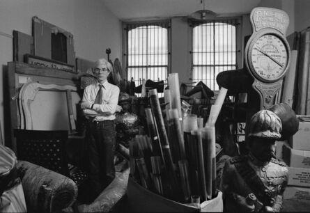Robert Levin, 'Andy Warhol in Storage Room 1981', 2015