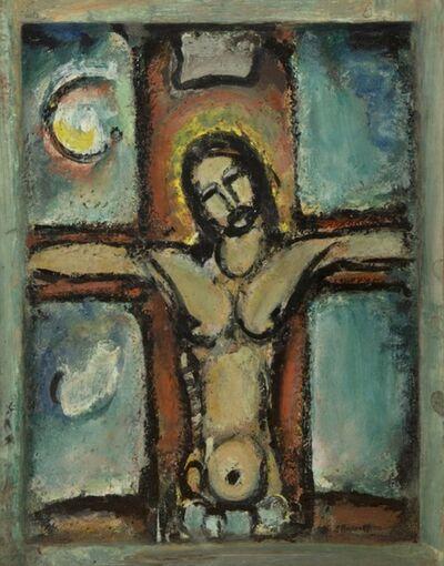 Georges Rouault, 'Christ en croix ou Christ', 1942
