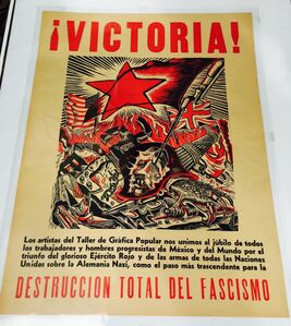 Ángel Bracho, 'VICTORIA', 1945