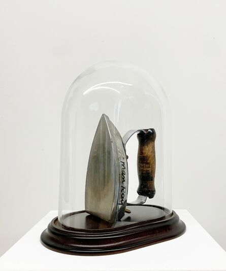 Man Ray, 'Cadeau Modèle', Executed in 1960-this work is a unique variant based upon Cadeau of 1921