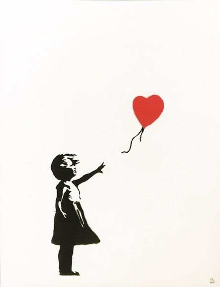 Banksy, 'Girl With Balloon (unsigned)', 2004