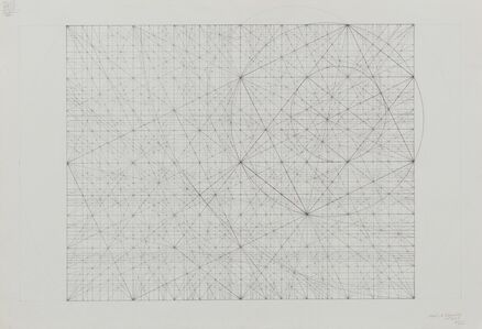 Mark Reynolds, 'Square Root Phi Series: Clusters of Music with an Eclipse, 9.17', 2017