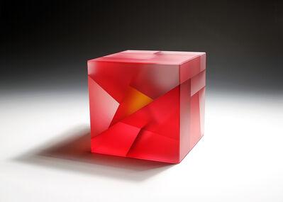 Jiyong Lee, 'Red-Orange Core Cube ', 2015