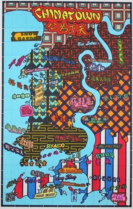 Lordy Rodriguez, 'San Francisco Neighborhood- Chinatown', 2013