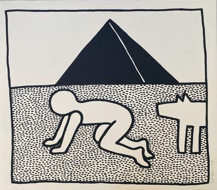 Keith Haring, 'Untitled (Blueprint)', 1990