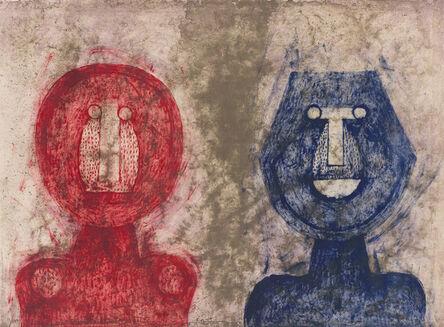 Rufino Tamayo, 'Dos Caras (Two Faces) (Pereda 155)', 1973