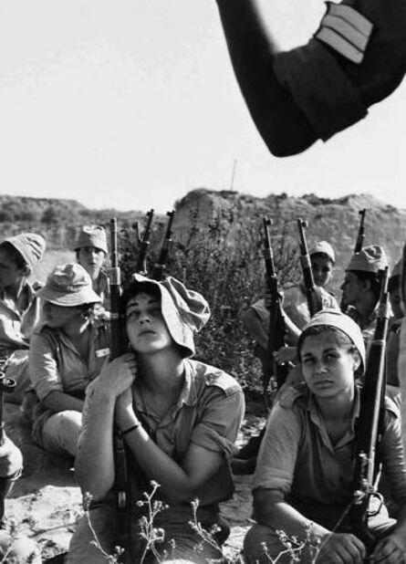 Micha Bar-Am, 'Women's Corps, training', 1970