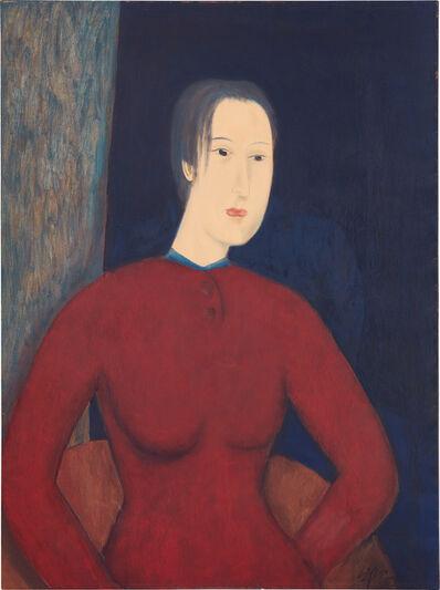 Chiu Ya-tsai, 'Femme à la Robe Rouge', 1994
