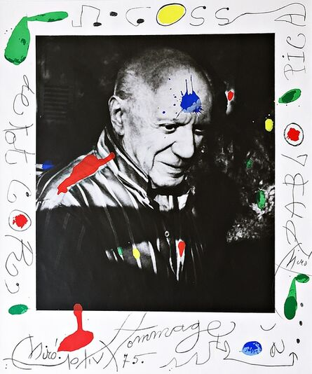 Joan Miró, 'Hommage à Picasso (Homage to Picasso)', 1975