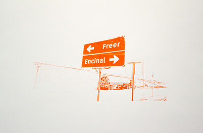 Ethel Shipton, 'Freer Encinal', 2014