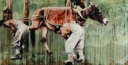 Hung Liu 刘虹, 'One Thousand Miles Memory II', 2008