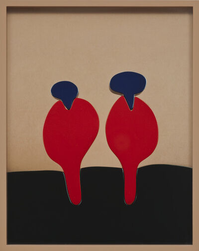 Elad Lassry, 'Brown, Red, Blue', 2012