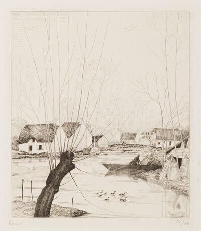 Jean-Emile Laboureur, 'L'Automne dans les Marais', 1929