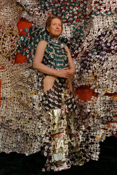 Sandra Lapage, 'Sharp garments for desperate shamans: portrait in aegis dress', 2020