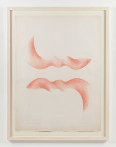 Ilona Keserü, 'Orange Wings (Artist's Proof)'