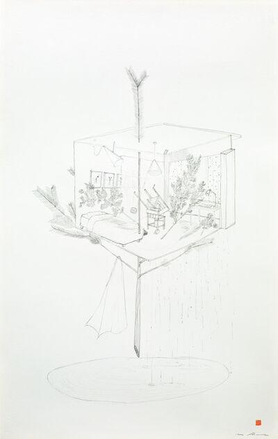 Hiraki Sawa, '/home (pine tree)', 2021