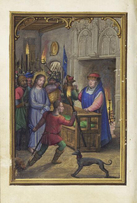 Simon Bening, 'Christ before Annas', 1525-1530