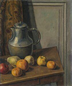Mario Tozzi, 'Bouilloir et pommes', 1920