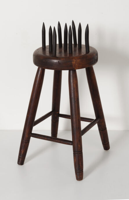Unknown Artist, 'Fraternal Lodge Initiation Stool', ca. 20