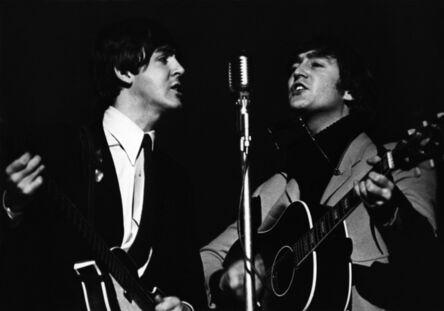 Terry O'Neill, 'Paul Mc Cartney and John Lennon', 1964