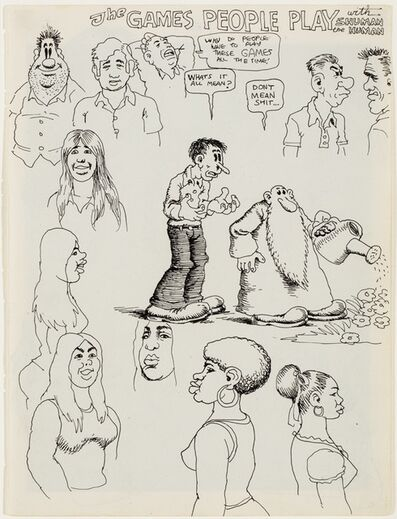 R. Crumb, 'The Games People Play', ca. 1967
