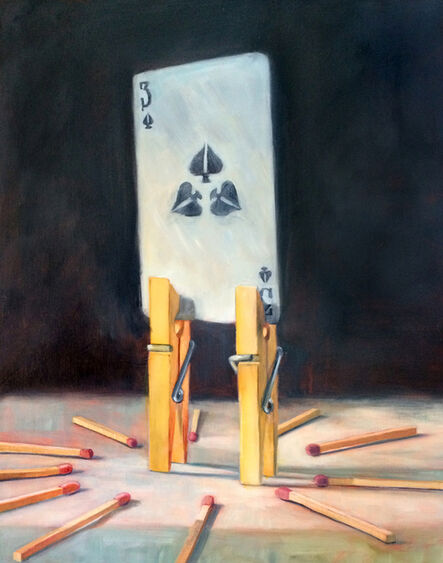 Deborah Davidson, 'Three of Spades', 2016