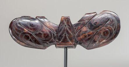 Old Bering Sea III culture, Bering Strait region, Alaska, 'Harpoon counterweight (Winged object),', 5-9