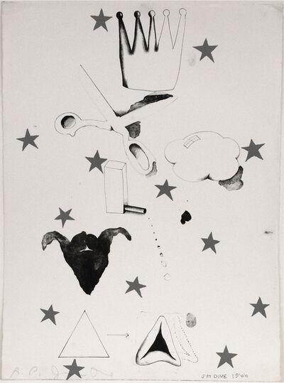 Jim Dine, 'Composition (Hamantash)', 1966