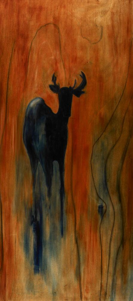 Susan Brearey, 'Blue Deer in Sienna', 2007
