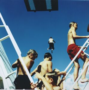 Karine Laval, 'Untitled #27, Barcelona, Spain (from the series: Swimming Pool)', 2002