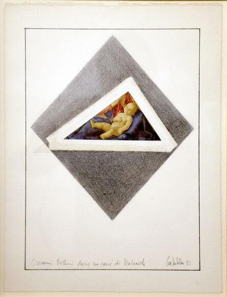 Lea Lublin, 'Giovanni Bellini dans le carré de Malevich,', 1981