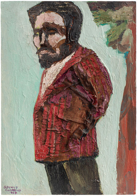 Benny Andrews, 'The Artist as an Artist', 1964