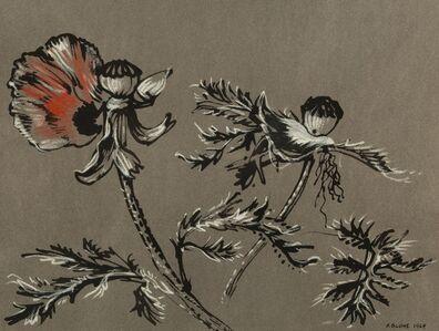 Peter Blume, 'Poppies #1', 1964