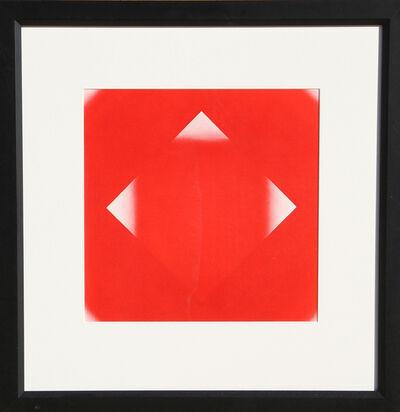 Herbert Bayer, 'Red Square with Three Corners', 1965