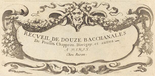 Nicolas Cochin, 'Frontispiece', 1650s