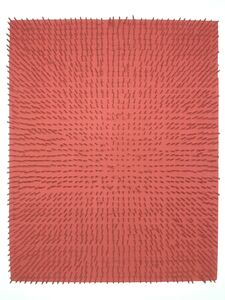 Bernard Aubertin, 'tableau clous', 1968