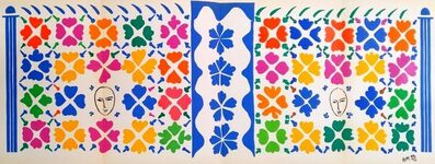 Henri Matisse, 'Decoration Masques', 1958
