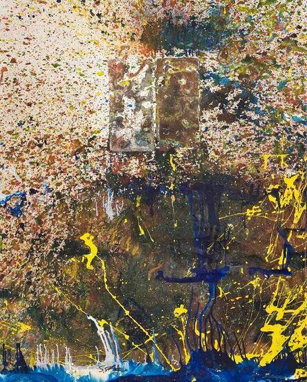 Shozo Shimamoto, 'Bottle Crash 97', 1997