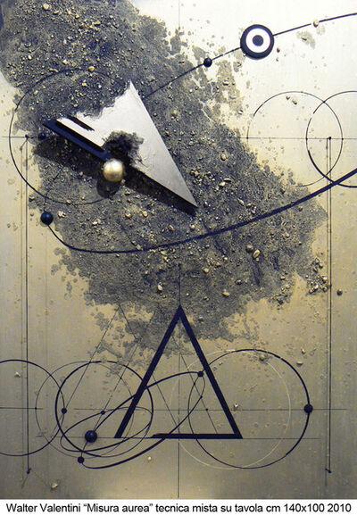 Walter Valentini, 'Misura aurea', 2010