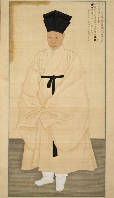 Kim Hong-do, 'Portrait of Seo Jik-su', 1796
