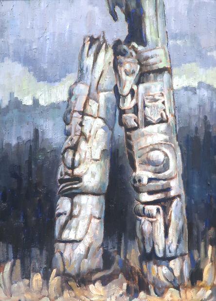 Nell Bradshaw, 'Old Haida Poles', ND