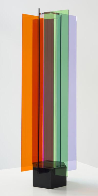 Carlos Cruz-Diez, 'Transchromie á six éléments', 1965-2010