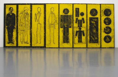 Matt Mullican, 'Untitled (Evolution of Man)', 2012