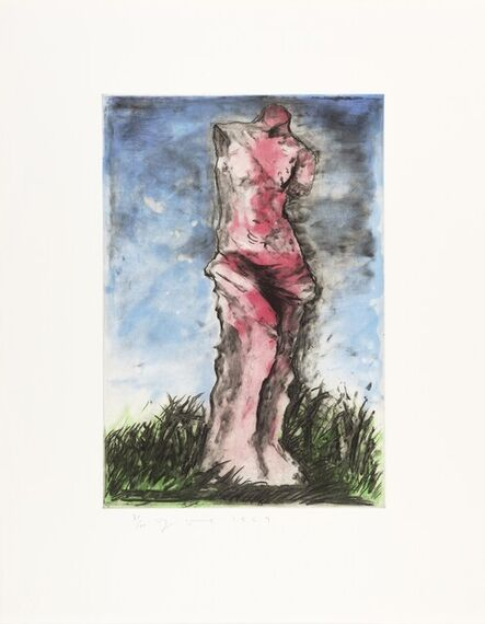 Jim Dine, 'The Albertina Venus (Carpenter 33)', 1989