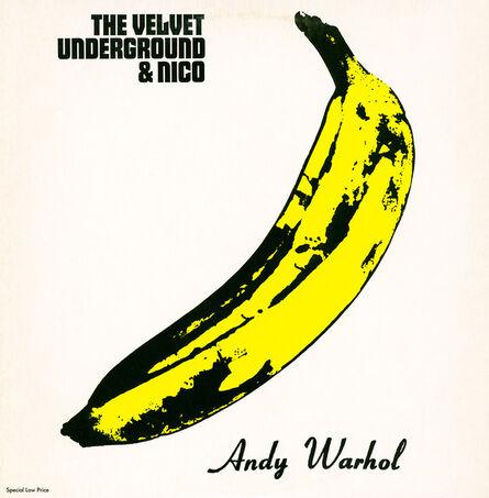 Andy Warhol, 'Warhol Banana Cover: Nico & The Velvet Underground Vinyl Record', ca. 1983