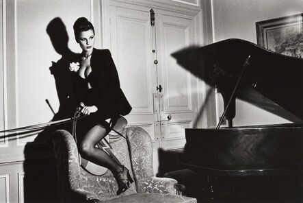 Helmut Newton, 'Saddle II, Paris', 1976