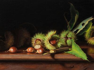 Joseph Q. Daily, 'Still Life with Freshly Fallen Chestnuts', 2018-2019