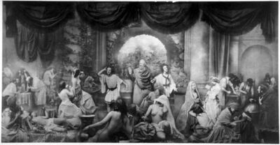 Oscar Gustav Rejlander, 'The Two Paths of Life', 1857